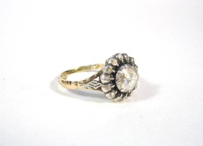 antieke sieraden, zilver goud en diamanten