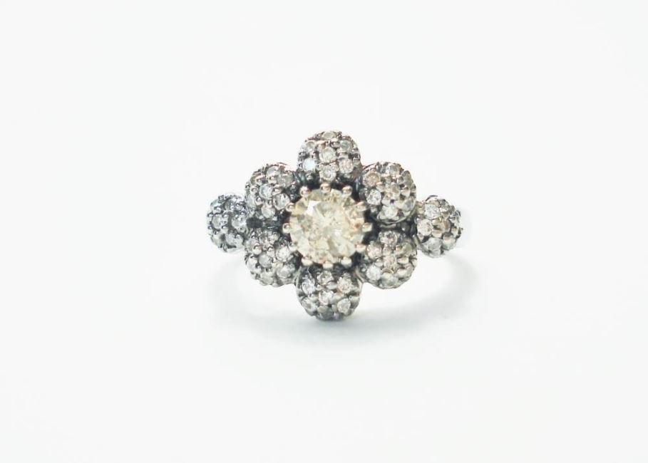 antieke sieraden, zilver goud en diama