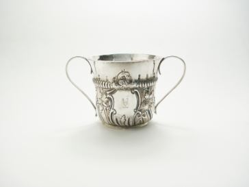 Th. Morly silver cup 1773